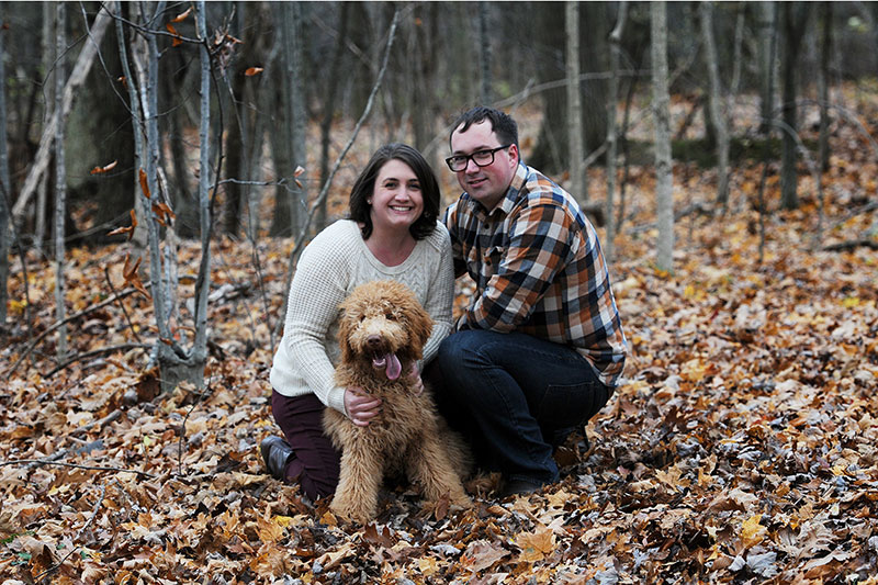 about-me-puppy-family-love-fall-warmth-engagement-photography-2